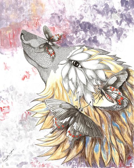 wolf-butterfly