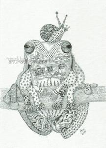web-Frog-snail