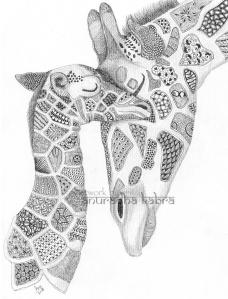 web-Giraffe and baby