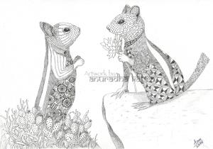 web-Squirrel love