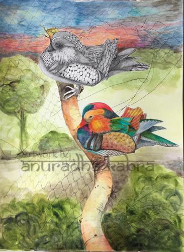 Mandarin Duck Pai- YinYang