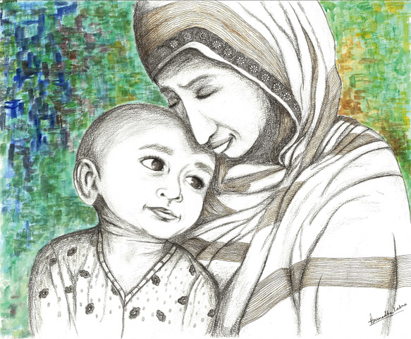 Mother from Syria