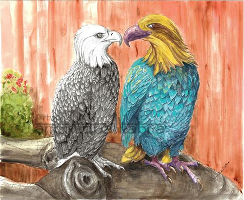 Yin-Yang-Eagles