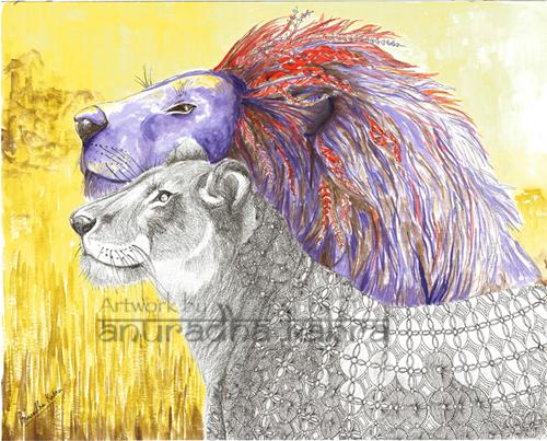 Yin-Yang-Lion